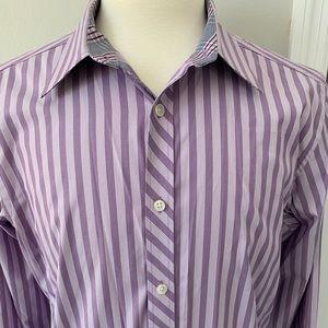 Ted Baker Endurance Purple shirt- 16